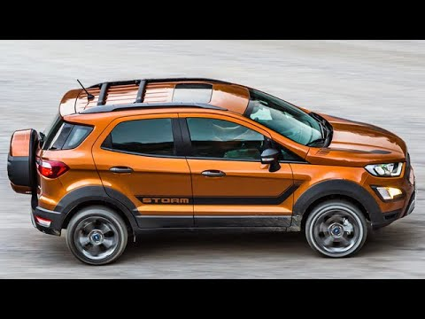 Baby Raptor Say Hello To The Ford Ecosport Storm Youtube