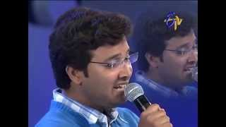Swarabhishekam - Sri Krishna Performance - Jabilamma Neeku Anta Kopama Song - 6th July 2014