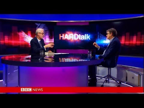 HARDtalk  Alan Rusbridger former editor of the  Guardian newspaper