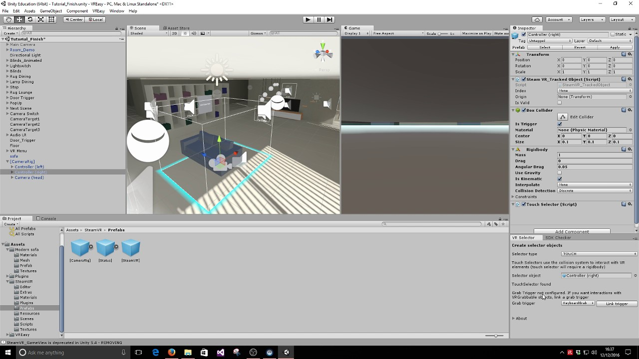 Steamvr Controller Mapping