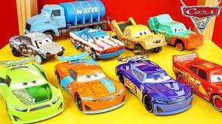 New Disney Cars 3 Diecasts Next Gen Piston Cup Thunder Hollow Crazy 8 Crash Racers Toys