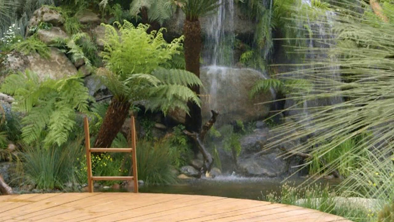 Phillip Johnson Landscapes Winning Chelsea Gardens Youtube