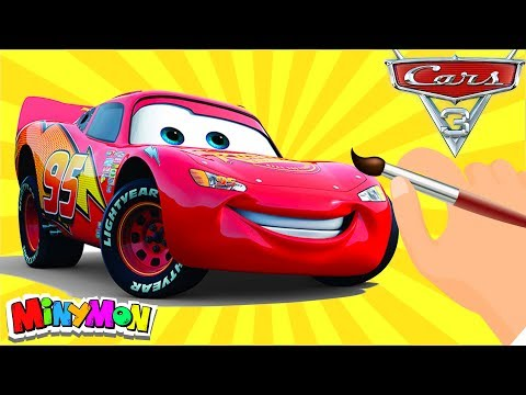 Arabalar 3 Simsek Mcqueen Boyama Keceli Kalem Youtube