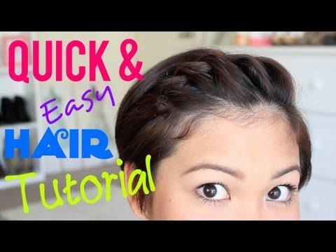 Quick & Easy Hair Tutorial For PIXIE HAIR!