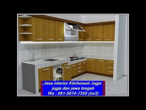 Wa 081 5674 7359 Im3 Jasa Kitchen Set Jogja Interior Aksesoris Kitchen Set Beli Kitchen Set