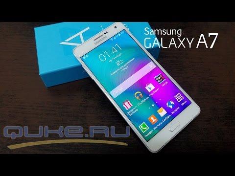 Samsung Galaxy A7 SM-A700FD обзор ◄ Quke.ru ►