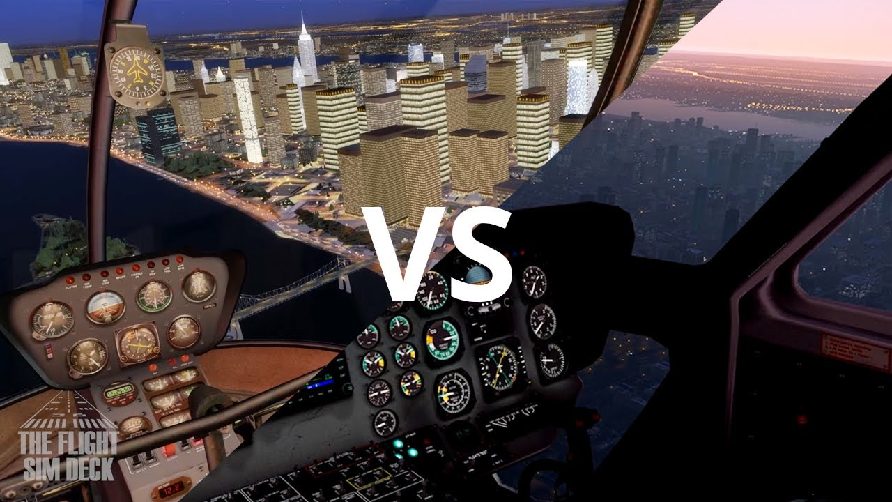 X-Plane 11 Default Night Scenery vs  Prepar3D v4 w/ Add-ons