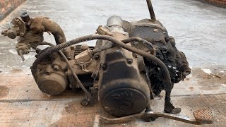 Engine Restoration of 1990 SYM Angel Hi | Restore Tear Down Old Rusty Motor