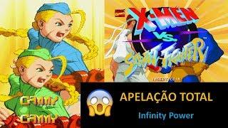 APELAÇÃO TOTAL - DUPLA DE CAMMY's - X-MEN VS. STREET FIGHTER