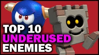 Top 10 Underused Mario Enemies