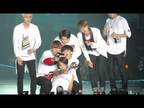 [FANCAM] 150829 BTS - Miss Right - The Red Bullet In HK