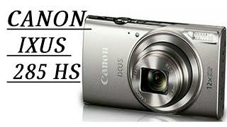 canon IXUS 285 HS Handson Zooming moon image