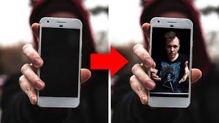 как сделать картинку из видео в афтер эффект
