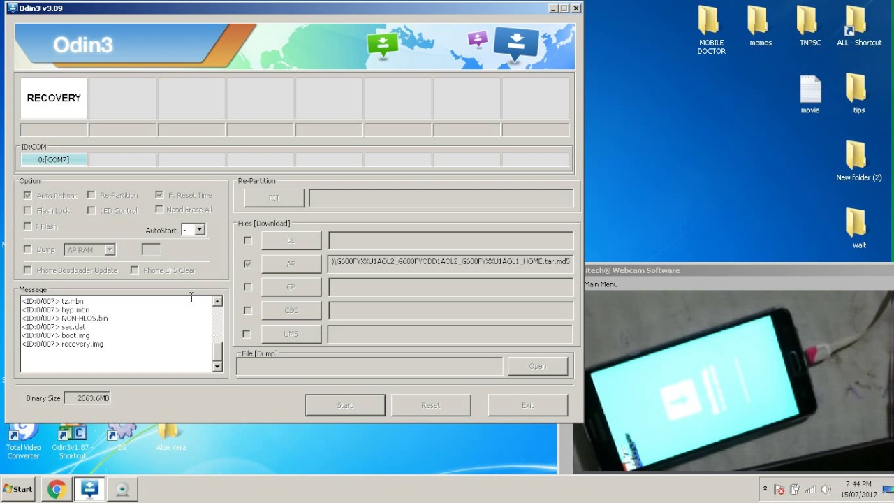 Samsung Galaxy On7 SM G600FY Flashing Odin by MOBILE DOCTOR