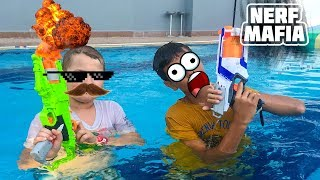 Нёрф Челлендж Бассейн    Nerf Challenge Pool