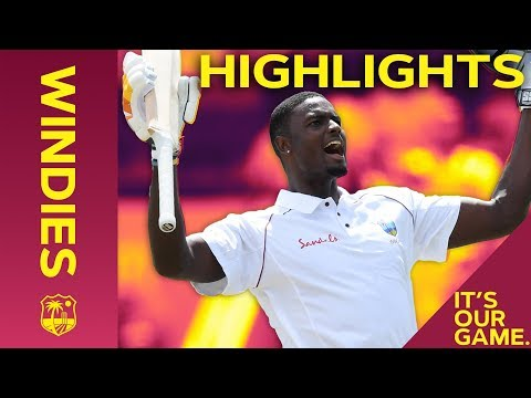 Holder & Dowrich Dominate! | Windies vs England 1st Test Day 3 2019 - Highlights