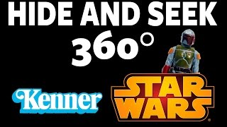 Vintage Kenner Star Wars Figures Game! Hide and Seek 360, #3 #360Video