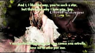 I Love You - Avril Lavigne (Con Letra y Subtitulada al Español) [New Song 2012]