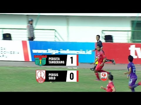 [Pekan 12] Cuplikan Pertandingan Persita Tangerang vs Persis Solo, 6 Agustus 2018