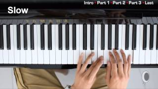 EXO - Baby Don't Cry Piano Tutorial Ep 1/2 (엑소) Mp3