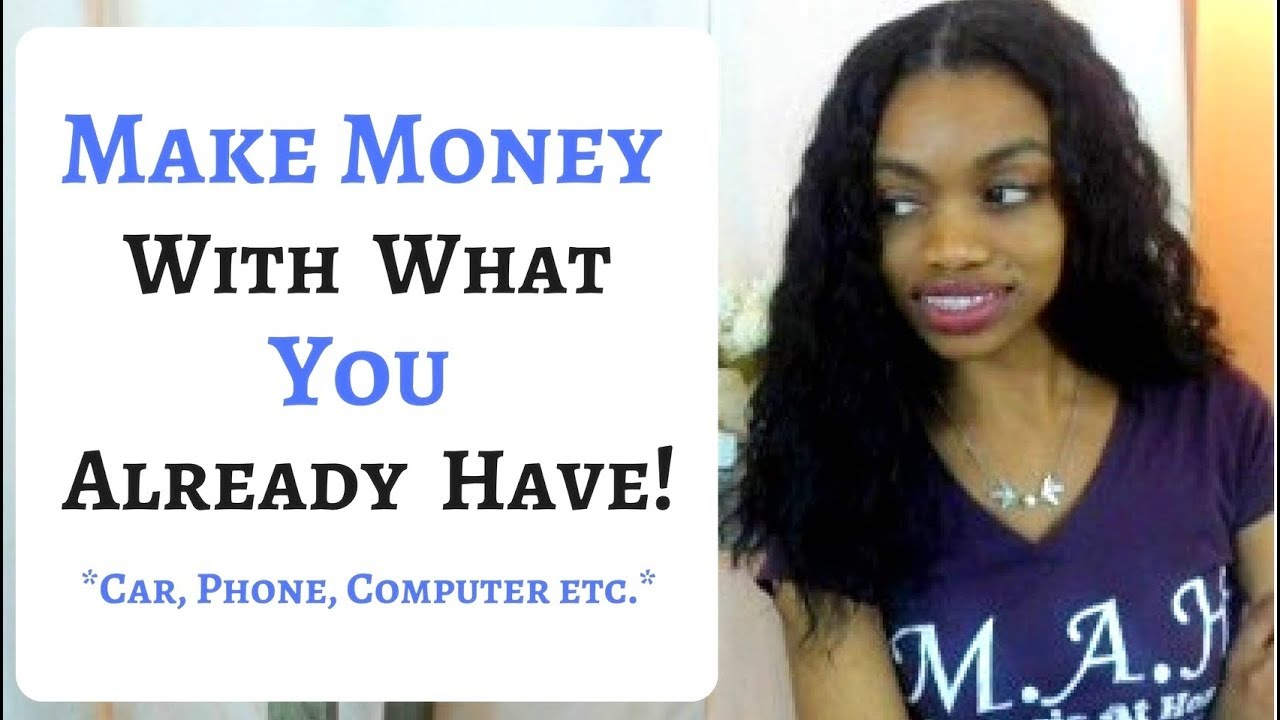 how to make money with money you already have