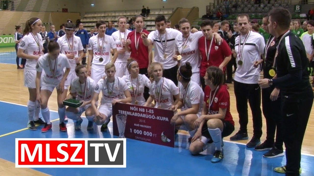 Női NB I-es Teremlabdarúgó-kupa - rövid összefoglaló