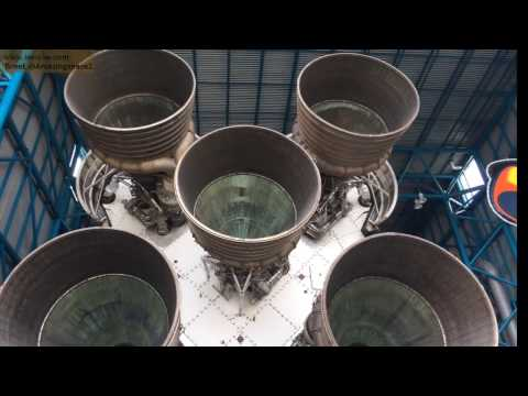01/27/2017 Tour Of  Kennedy Space Center - The Saturn V center