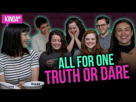 TRUTH OR DARE w/ All For One S2 Cast!! | KindaTV ft. Natasha Negovanlis