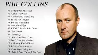 Phil Collins Greatest Hits Full Album | Best Songs Of Phil Collins