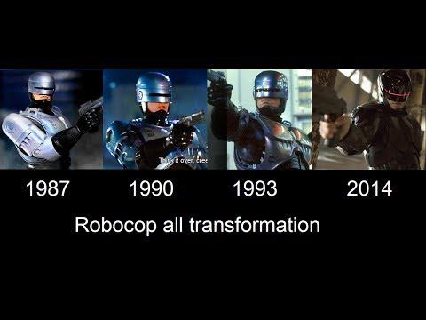 Robocop transformation in movies [ 1987- 1990- 1993- 2014 ]