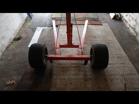 How to: Build an Off-road, Big Wheel Engine Hoist, Cherry Picker