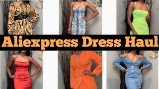 ALIEXPRESS DRESS HAUL |GIRL! I FOUND SOME AFFORDABLE DRESSES