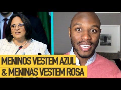 Diz A Ministra: Meninos Vestem Azul e Meninas Vestem Rosa