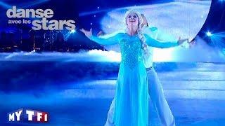 DALS S06  - Priscilla Betti danse une danse contemporaine sur