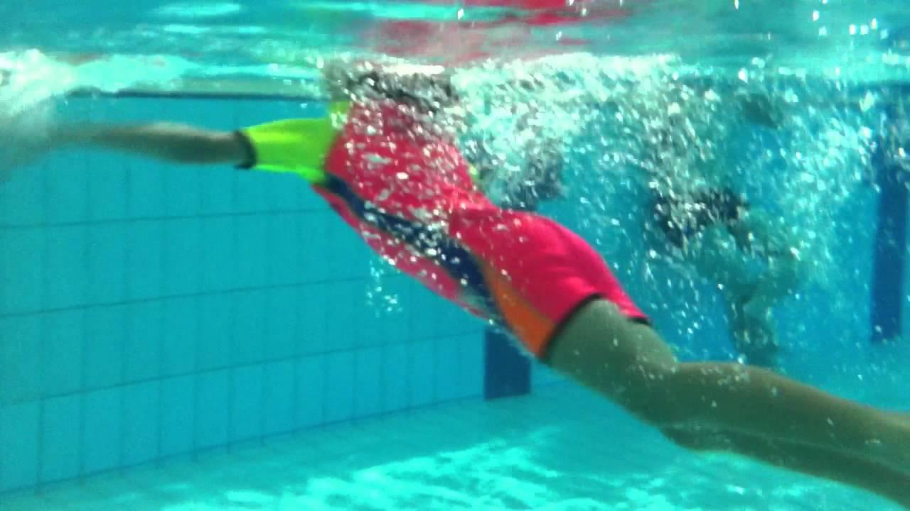 Frog Style Swimming Animation - YouTube