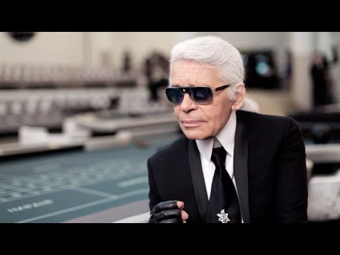 Karl Lagerfeld's Interview - Fall-Winter 2015/16 Haute Couture CHANEL Show