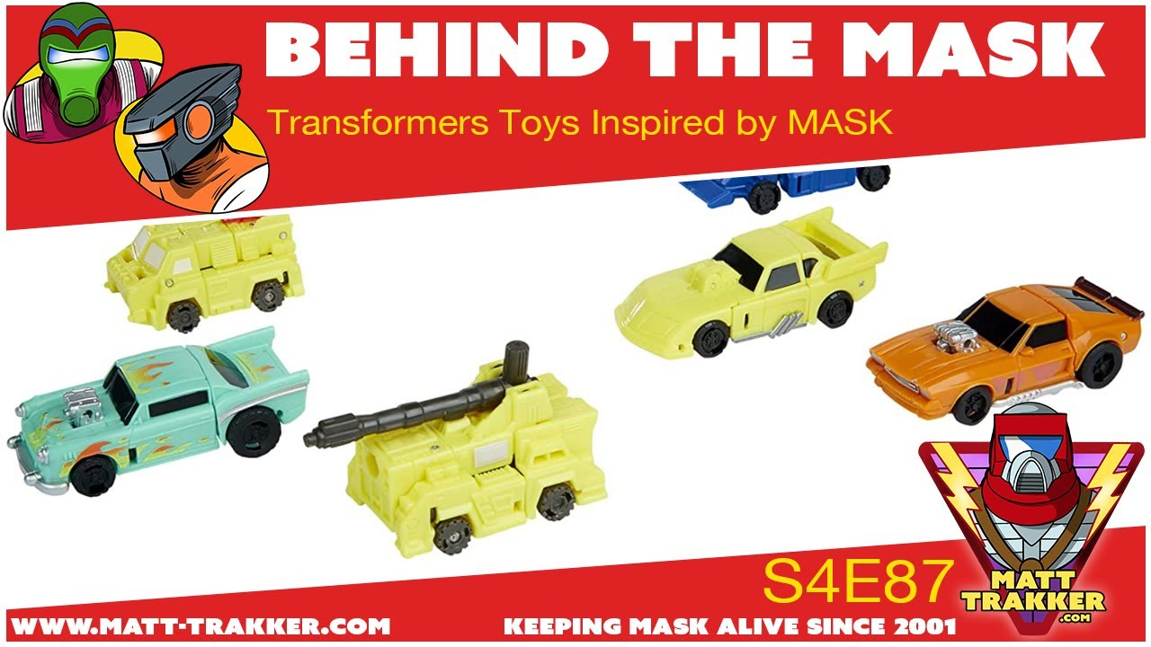NEW Transformers Toys Inspired by MASK - S4E87