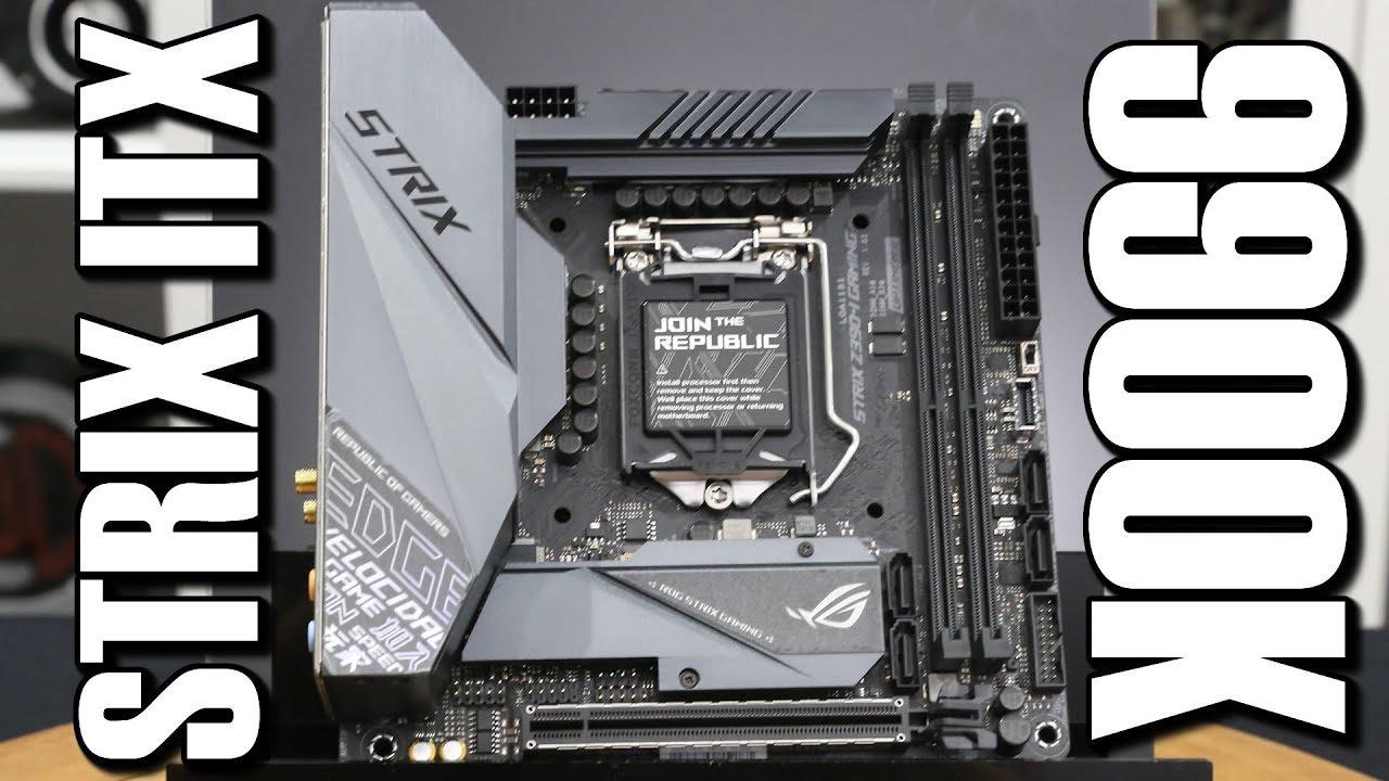 Asus ROG Strix Z390 i 9900K Motherboard Review