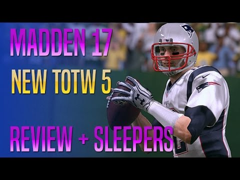 New TOTW 5 Review! Brady, Slay, Johnson, Cooper + Mariota!