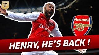 Thierry Henry : le retour de la légende à Arsenal (2012)
