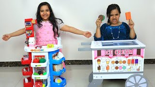 शाफ़ा और उसके दो भाइयों ने एक सुपरमार्किट तैयार की