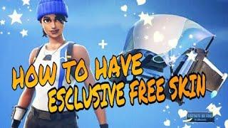 FREE FORTNITE SKIN PS4 [Read Description]