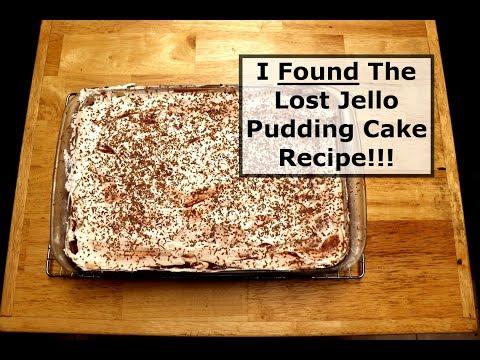 Jello Pudding Cake - Bringing Back A Classic Favorite
