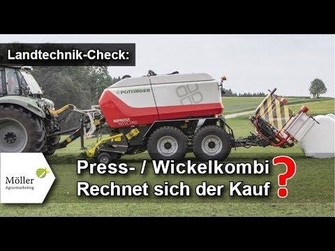 PÖTTINGER IMPRESS 155 VC PRO Press-Wickelkombination Im Landwirt.com Praxistest - Jetzt Kaufen?