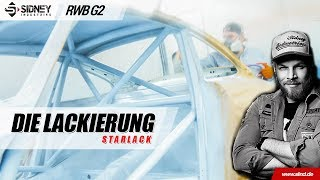 Die Lackierung! | RWB Germany #2 Part 18 | Sidney Industries