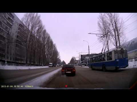Последствия ДТП   Ульяновск   Маршрутка+9-ка