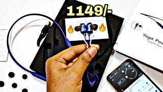 Truke Yoga Power Earphone Unboxing & Review | Best Neckband Earphone under 1150inr