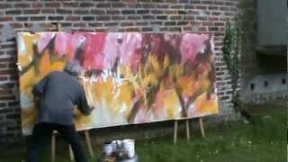 Action painting - Gérard BESSET - 12 mai 2012