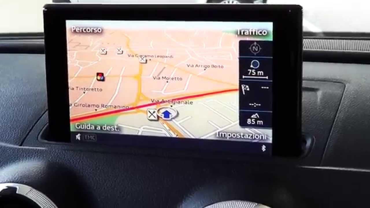 Sistema di navigazione    plus    con    MMI    Audi    A3    SPB 20 TDI