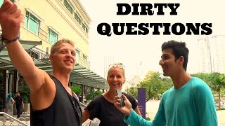 Dirty tick questions with strangers - Dirty minds